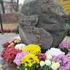 Złożenie kwiatów 11 listopada