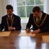 Kilkenny - ceremonia podpisania umowy partnerskiej
