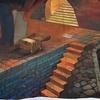 Malowidło 3D przy Szkole Łacińskiej