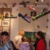 Wystawa prac uczniów Powiatowego Ogniska Plastycznego