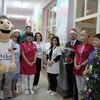 Burmistrz odwiedził pacjentów oddziału dziecięcego
