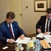 Podpisanie umowy na kolektor