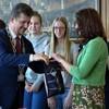 Burmistrz gościł chór z partnerskiego Monheim nad Renem