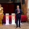 Spotkanie Burmistrza Miasta Malborka z twórcą statuetki konkursu Malborski Mistrz Biznesu