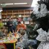 W malborskiej bibliotece wspaniały teatr i świąteczne warsztaty