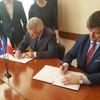 Podpisanie umowy partnerskiej ze Swietłyj