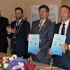 Ratyfikacja umowy partnerskiej Malbork - Swietłyj 19.07.2019