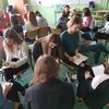 Uczniowie z II LO na warsztatach