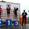 Castle Triathlon Malbork 2020 - dekoracja 1/8 IM